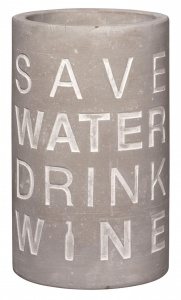 cooler Save water drink wine RAEDER