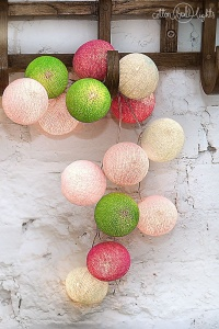SPRING 10 kul LED Cotton Ball Lights PREMIUM