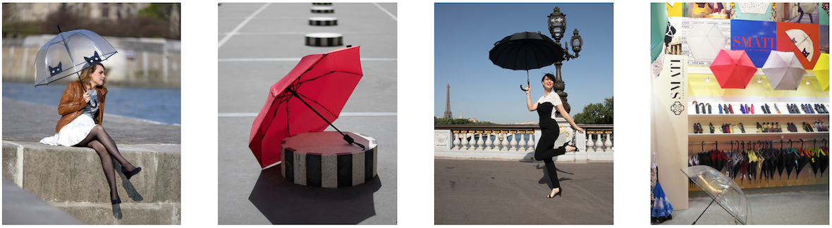 smati francuskie parasolki mantecodesign